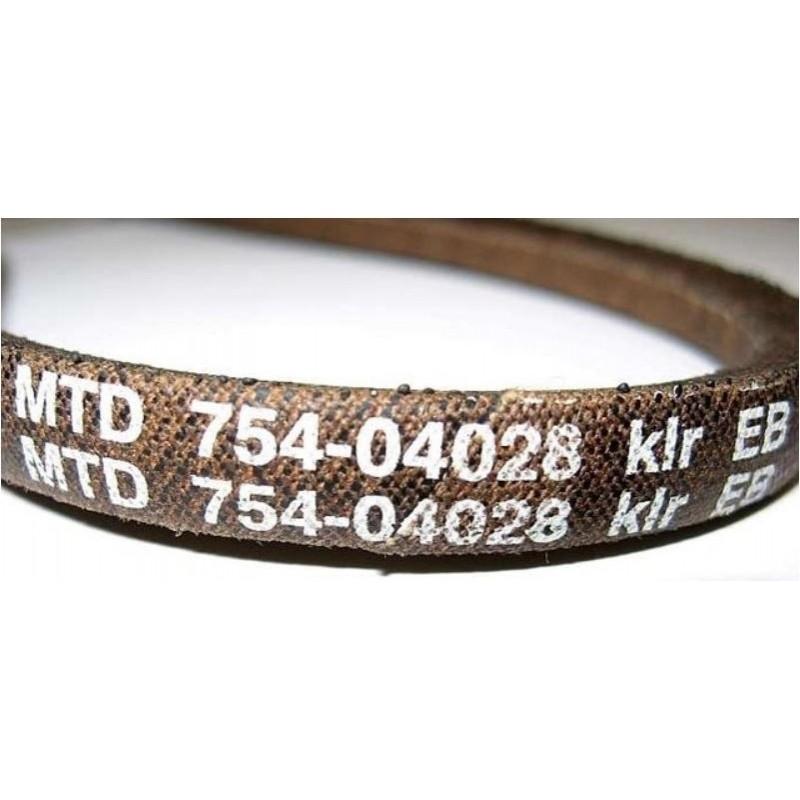 vg45b MTD Scarificateur pour pelouse vg40m vg40bm uv4000b 754-04028 Courroies trapézoïdales propulsion f