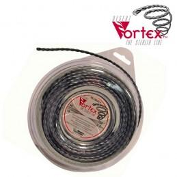 Fil nylon vortex Ø 3,3 mm pour débroussailleuse (blister)