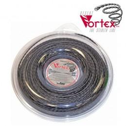 Fil nylon vortex Ø 3,3 mm pour débroussailleuse (coque)