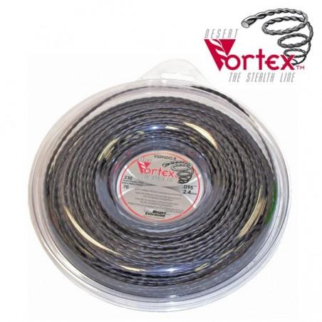 Fil nylon vortex Ø 3,9 mm pour débroussailleuse (coque)