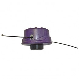 Tête de débroussailleuse nylon semi-automatique 2 fils universelle