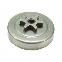 Pignon de chaîne de tronçonneuse Stihl 020T, 200T, MS192T, MS200, MS200T, 6 dents, 11296402000