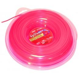 Bobine de fil nylon étoilé longueur 90 mètres diamètre 2.4 mm