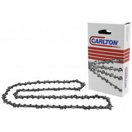 """Chaîne de tronçonneuse semi-chisel Carlton .325"""" 1.6mm .063  K3C prédécoupée 74 maillons correspond à Oregon 22BPX, Stihl 26RM1"""