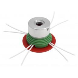 Tête de débroussailleuse universelle manuelle Multi-fils
