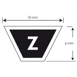 Courroie série Z MITSUBOSHI Z29,5