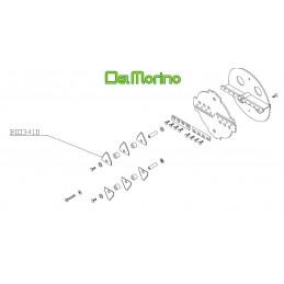 Couteau fléau broyeur de végétaux Delmorino Scutum, Pugio, BIO341D