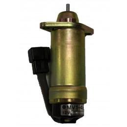 Solénoïde d'arrêt moteur Kubota K1105, K1505, 16259-60010, 1625960010, 00.55.01.0640, 0055010640