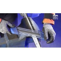 Affûteuse manuelle pour chaînes de tronçonneuses Pferd, CS-X-5.16, 11098051, limes de 5.16 mm