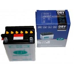 Batterie tracteur tondeuse sans acide 12N14-3A, 12 V, 14 Ah, borne + à droite