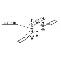 Bague de lame Gyrobroyeur Del morino DMK178D, 90, 100 110