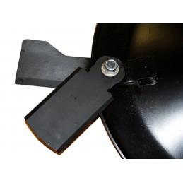 Couteau ventilé gauche tondeuse Gianni Ferrari, 150RCA,  01.33.01.0240, 0133010240