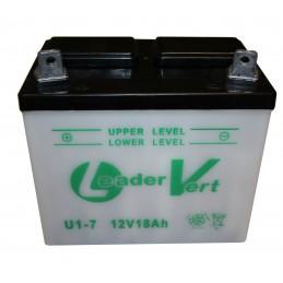 Batterie tracteur tondeuse U1-7, 12 V 18 Ah