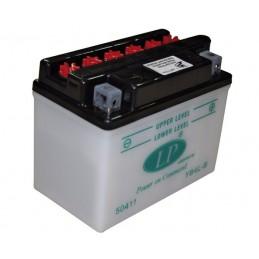 Batterie quad scooter YB4LB, 12 V, 4Ah, borne + à droite