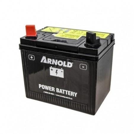 Batterie tondeuse SANS ENTRETIEN 12V 16 AH 280CCA + à gauche 5032-U3-0001 ARNOLD BY MTD