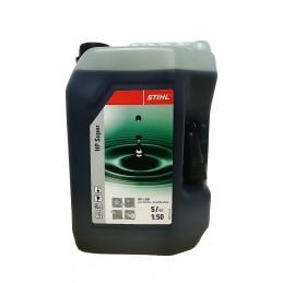 STIHL Bidon d'huile pour moteur 2 temps HP Super 5L 07813198055